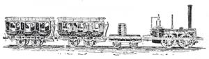 early-passenger-train